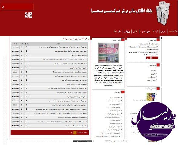 اطلاعیه: پایگاه اطلاع رسانی ورزش ترکمن صحرا افتتاح شد