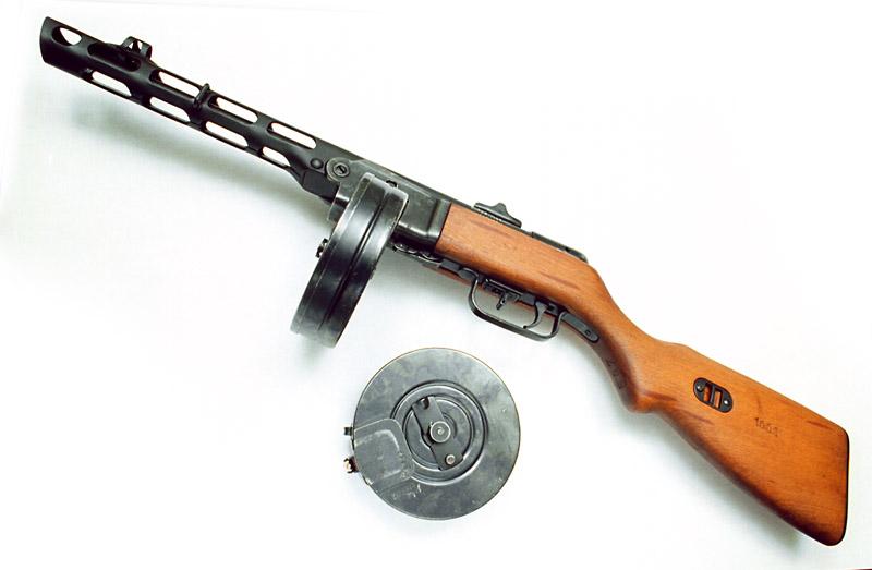 آشنایی با مسلسل Ppsh ، سلاح کاری ارتش سرخ در جنگ جهانی دوم !