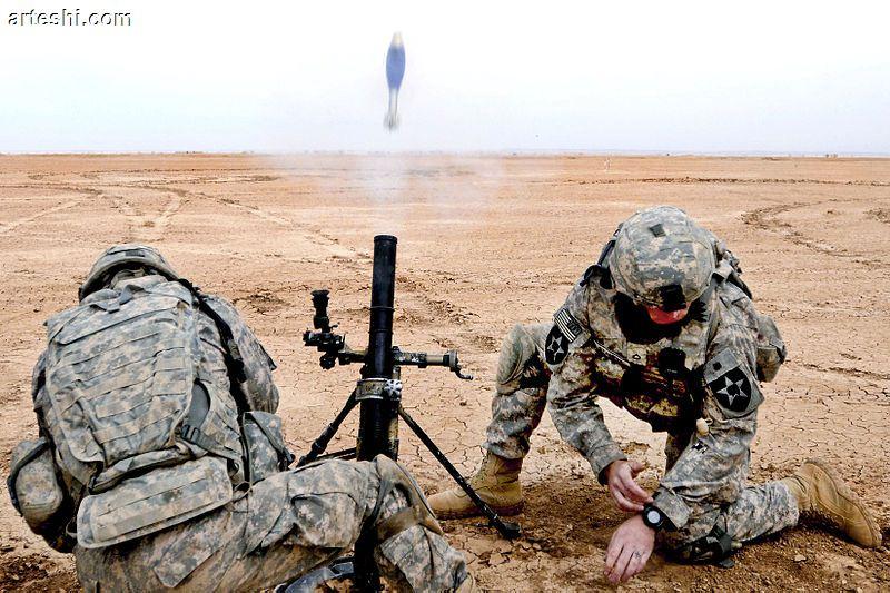 آشنایی با خمپاره انداز کماندویی M - 224 ساخت ایالات متحده !