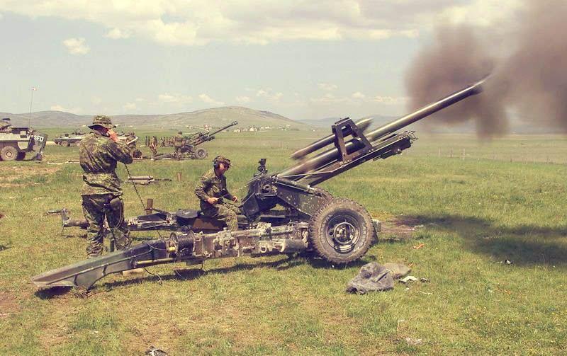 معرفی توپ غیرخودکششی 105 میلیمتری GIAT LG1 ارتش فرانسه !