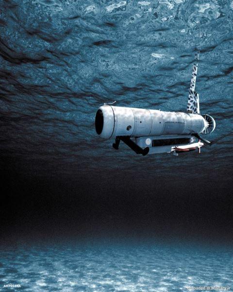 شکار مین های دریایی توسط شناورهای بی سرنشین