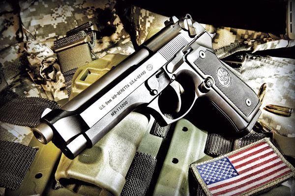 معرفی سلاح کمری برتا (m9 beretta) / سلاح کمری محبوب ارتش آمریکا