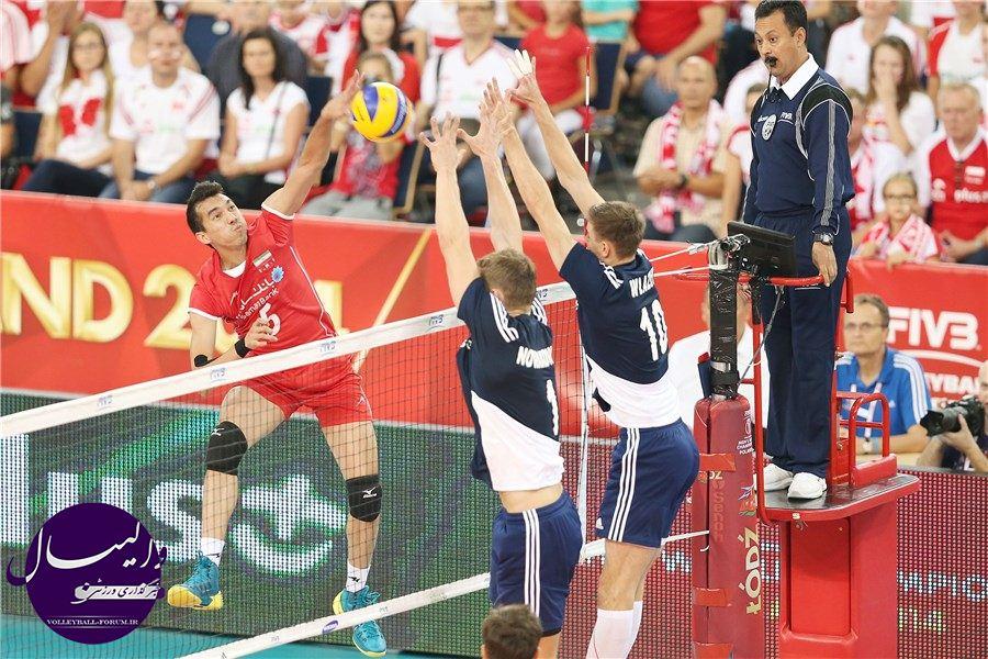 برای ادامه رقابت های جهانی والیبال ،ملی پوشان راهی کاتوویسا لهستان شدند !