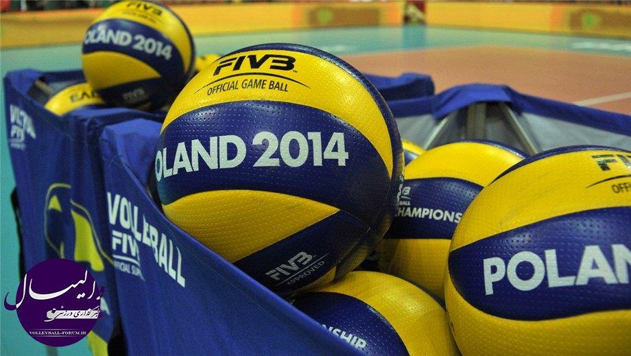 مرحله سوم والیبال قهرمانی جهان (لهستان 2014)/فرانسه 3 –آلمان صفر؛ ایران فقط برد می خواهد