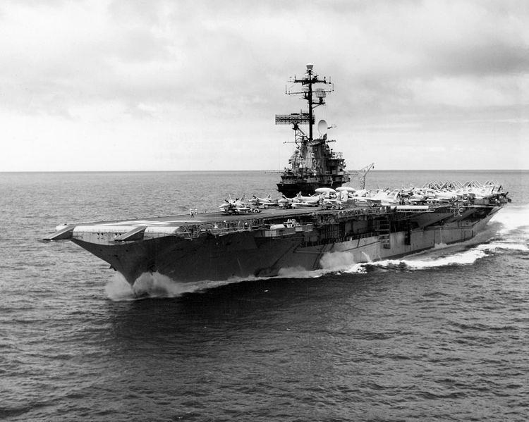 ناو هواپیما بر USS-Oriskany / از آغاز تا پایان / بزرگترین صخره مصنوعی جهان