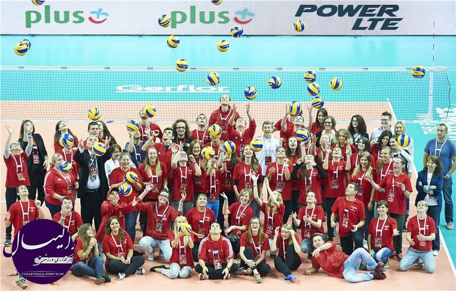 تصاویر منتخب مرحله دوم رقابت های والیبال قهرمانی جهان 2014/قسمت دوم !