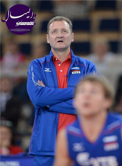 سرمربی تیم والیبال روسیه