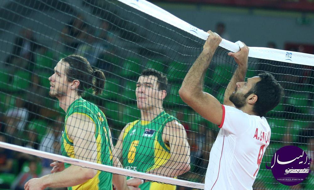 گزارش تصویری دیدار تیم ملی والیبال ایران و استرالیا/قسمت سوم !