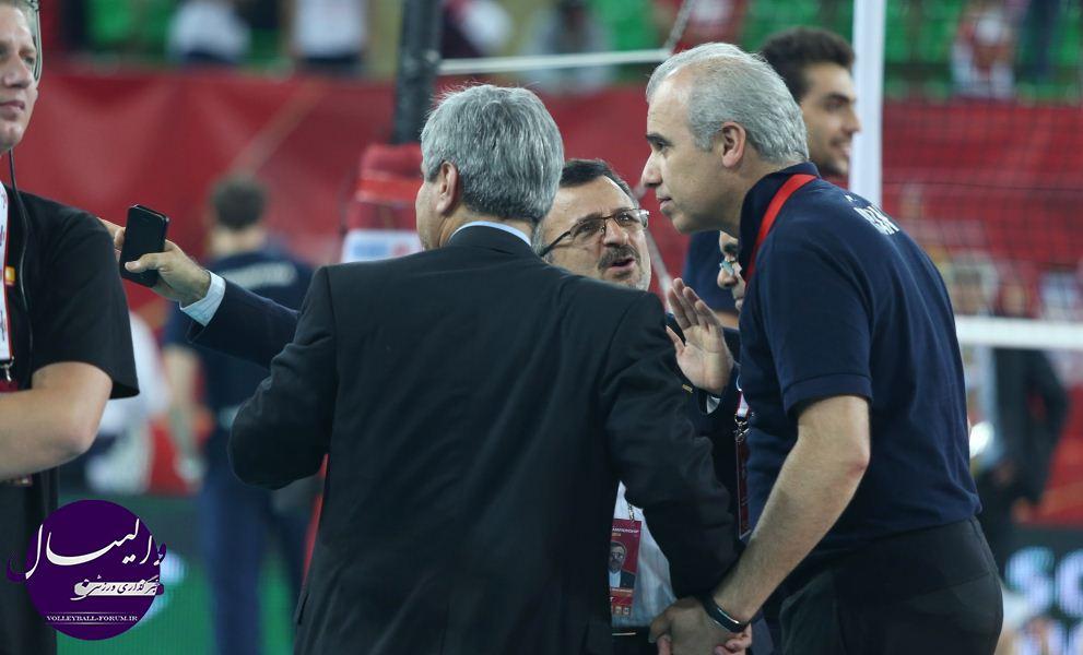 سرپرست تیم ملی والیبال : پیروزی برابر لهستان برای ایران کلید صعود است !