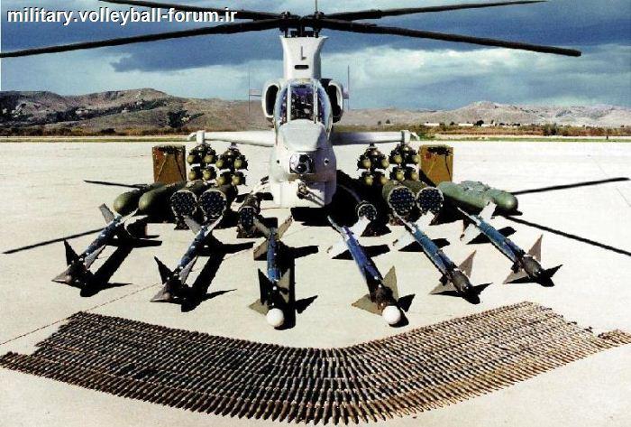 آشنایی با نسل جدید هلیکوپتر تهاجمی کبرا،AH-1z viper (سوپرکبرا) !