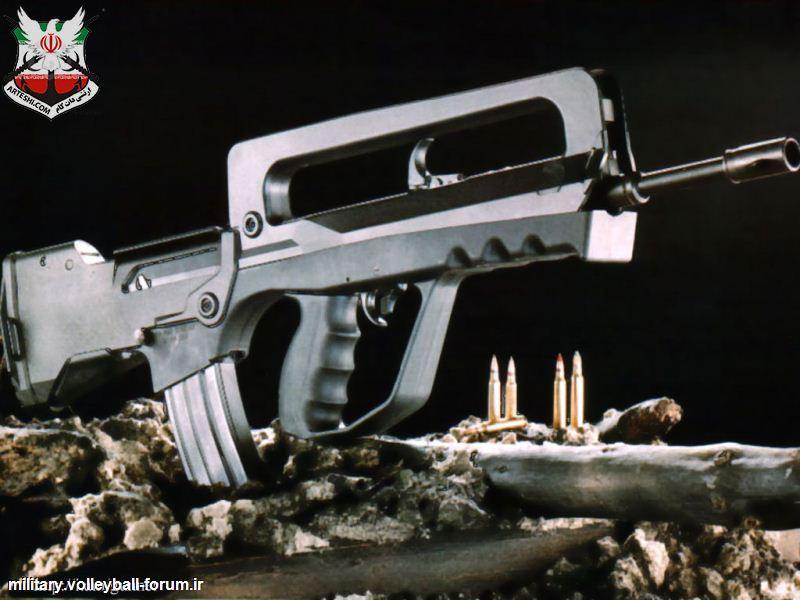 فاماس FAMAS G2 اسلحه انفرادی ارتش فرانسه !