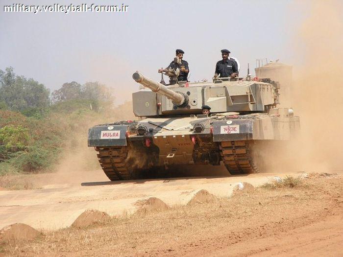 مقایسه تانک های هندی آرجون و الخالید پاکستان،تانک های اصلی دو کشور!