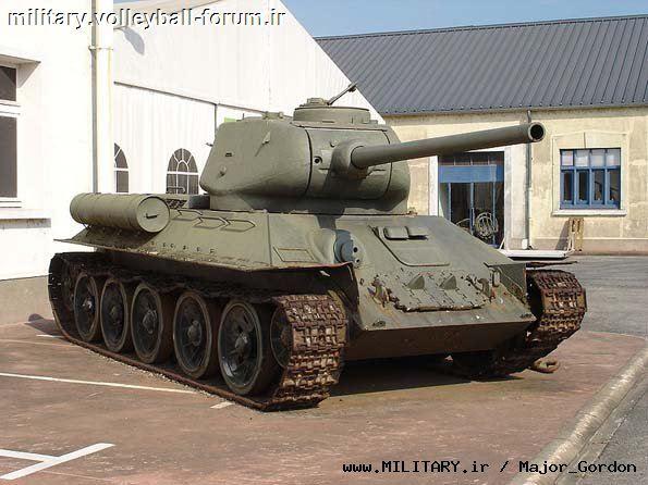 آشنایی با تانک T34 ارتش سرخ شوروی؛افتخار ژوزف استالین !