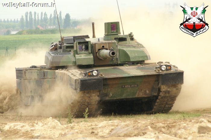 تانک لکلرک نماد تکنولوژی برتر ، بومی سازی حداکثری و اقتدار زرهی فرانسه !