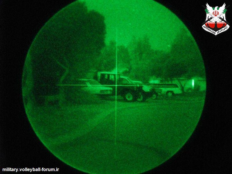 آشنایی با تجهیزات دید در شب AN/PVS 4 !