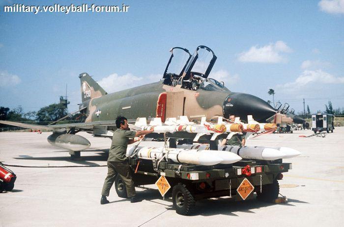 آشنایی با موشک هوا به هوا نیمه فعال اسپارو (AIM-7 Sparrow) !