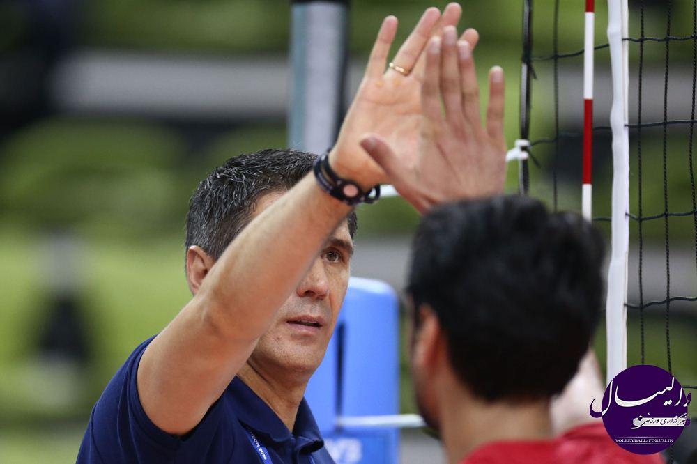 کواچ : از اهمیت مدال طلای والیبال بازی های آسیایی برای ایرانیان آگاهم