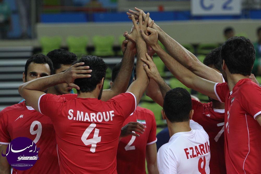 اصلاحیه/برنامه دیدار های مرحله دوم والیبال اینچئون/تغییر ساعت دیدار ایران و کره جنوبی !