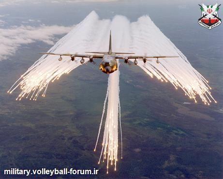 چف و فلیر: اقدامات تدافعی در برابر موشکهای ضد هواپیما !