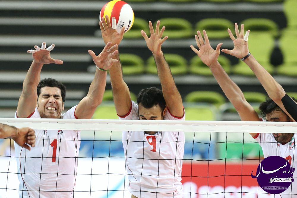 قسمت اول / گزارش تصویری دیدار تیم ملی والیبال Vs تیم والیبال هند !