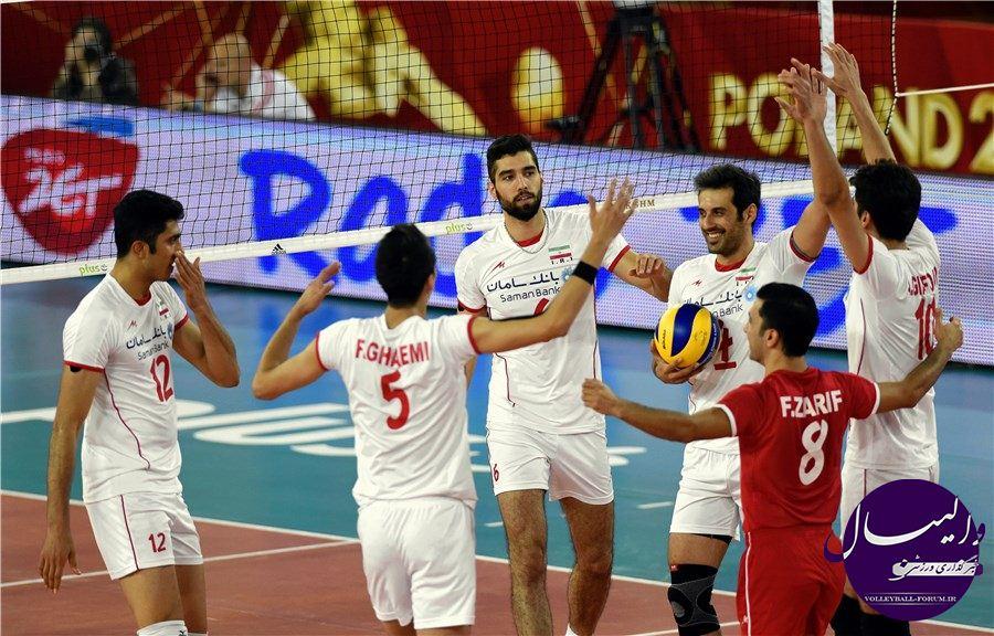 اختصاصی / گزارش کامل بازی ایران و استرالیا/اولین گام محکم ایران در مرحله دوم رقابت های جهانی !