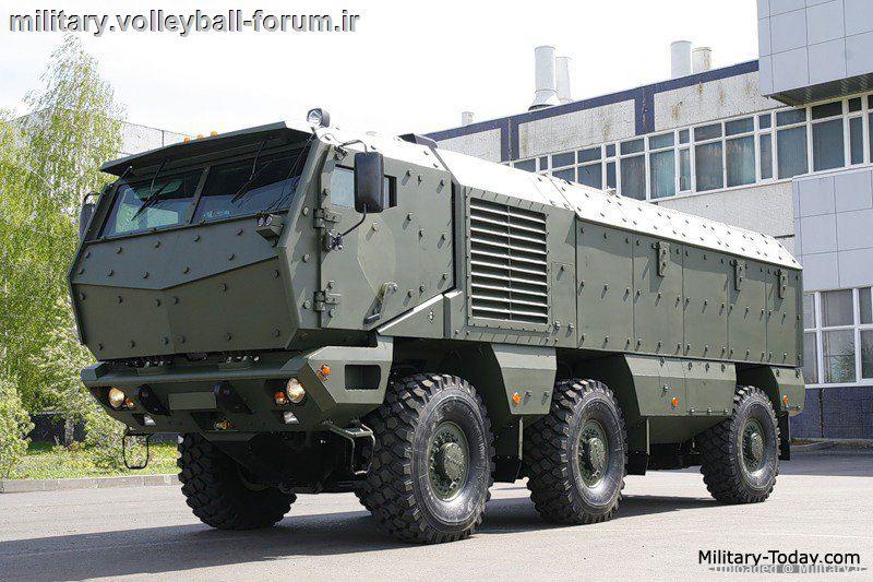 معرفی امرپ KamAZ-63968 Taifun ارتش روسیه !