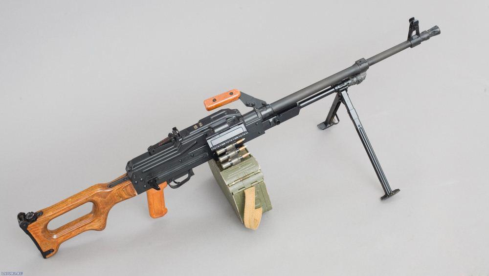 آشنایی با مسلسل روسی PK کلاشنیکف !