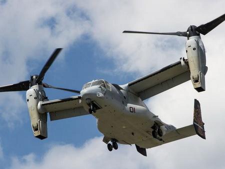 آشنایی با هلی کوپتر V-22 Osprey، عقاب ماهیگیر !