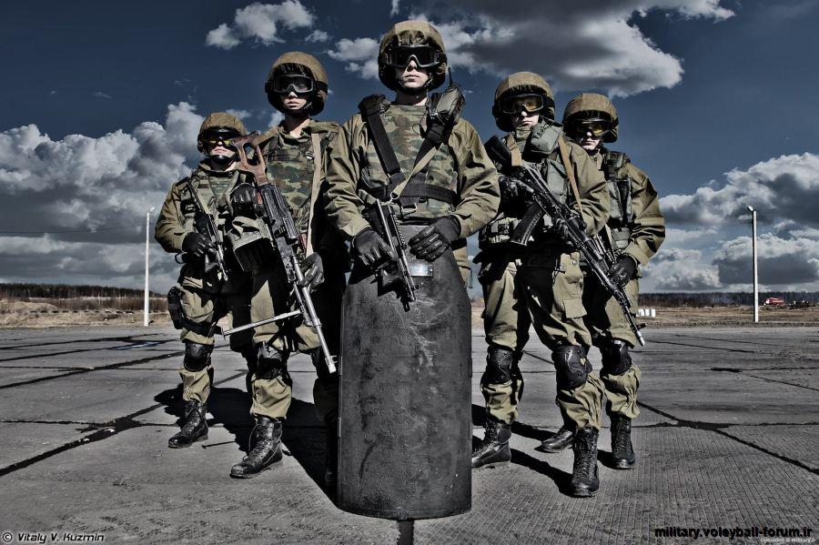 تصاویری از نیرو های ویژه ی روسیه !