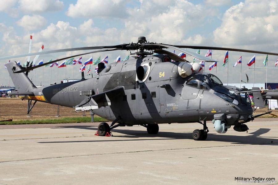 آشنایی با بالگرد Mi-35m ،نسخه صادراتی و آبگرید شده ی میل 24 (ارابه شیطان) !!