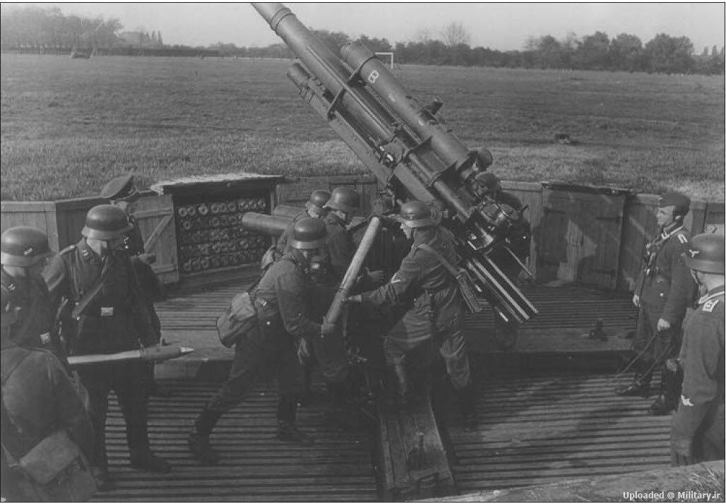 عکس : توپ ضد هوایی/ضد تانک 88 م.م آلمانی !