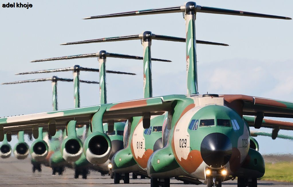 معرفی هواپیمای ترابری کاوازاکی C-1 ژاپن/اسب باری نیروی هوایی ژاپن
