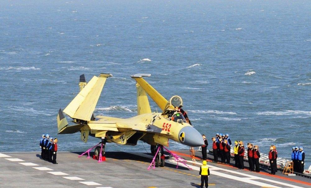 آشنایی با جنگنده چند منظوره J-15 ارتش چین !
