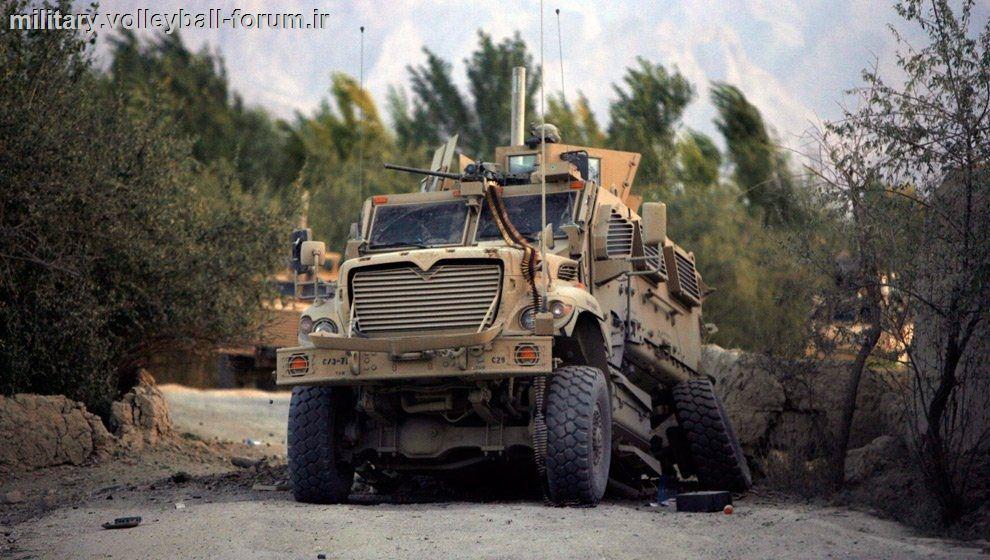 تصویر : امرپ (خودرو زرهی) در برابر انفجار