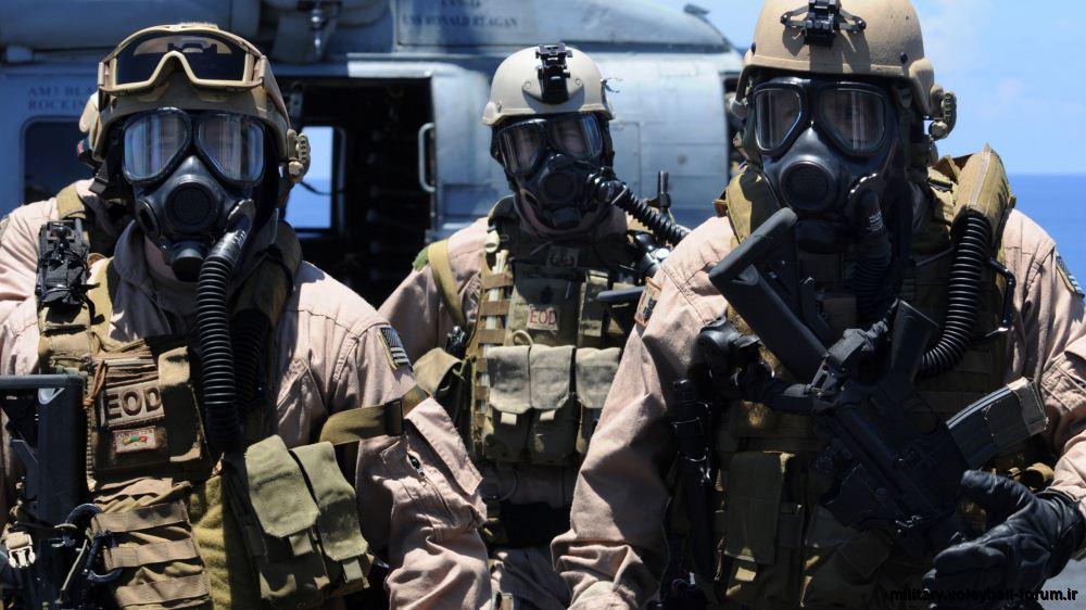 معرفی واحد EOD ارتش ایالات متحده آمریکا