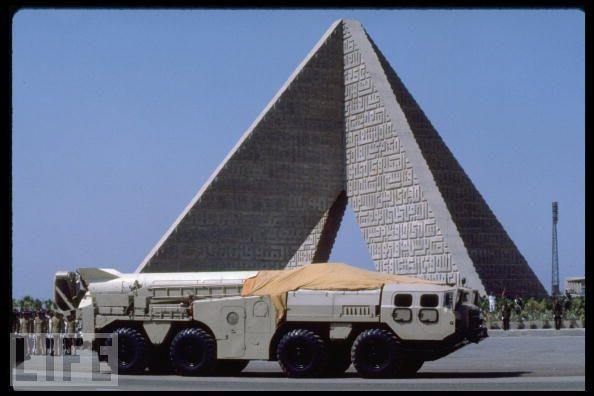 قسمت هفتم/آشنایی کامل با موشک بالستیک اسکاد / اسکاد در مصر