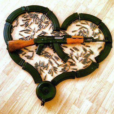 تصویر : AK 47 !