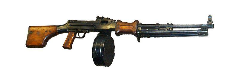 آشنایی با مسلسل مشهور دگتریف RPD ساخت شوروی سابق !