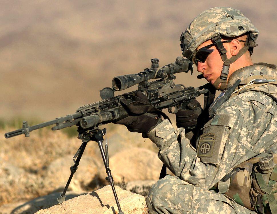 آشنایی با اسلحه mk-14 ،سلاح اسنایپر نیروهای ویژه دلتا فورس !