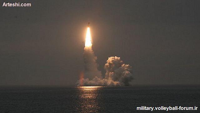 موشک فوق مدرن بولاوا (RSM-56 Bulava) روسیه!
