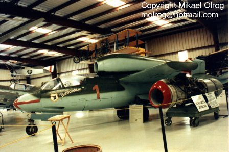 جنگندهARADO AR TEW16/43-15 المان نازی با موتور راکت !
