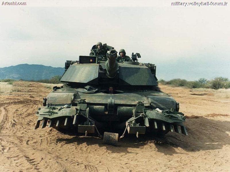 معرفی تانک ام-1آبرامز(M1 Abrams) ! +کلیپی از این تانک مخوف !
