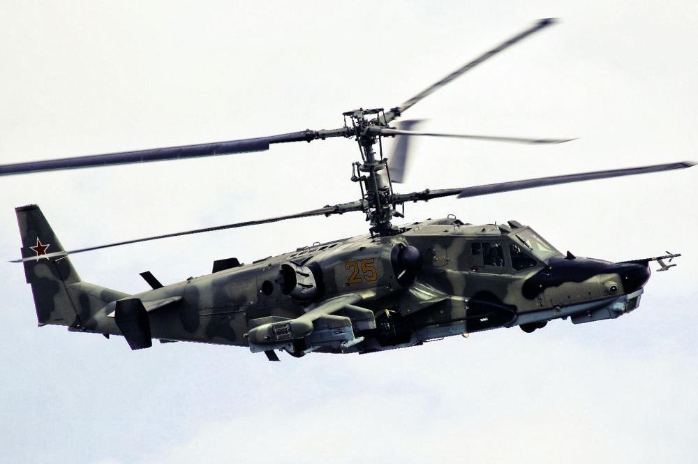 آشنایی با بالگرد تهاجمی کاموف (ka-50) ارتش روسیه !