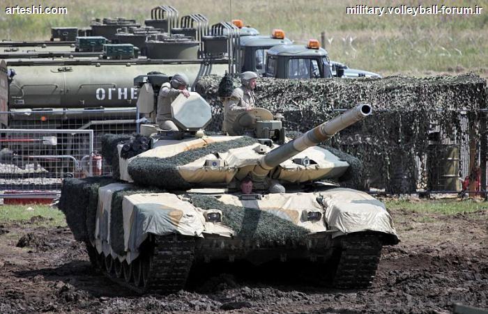 آشنایی با تانک T-90MS ، افسانه ی ویرانی !