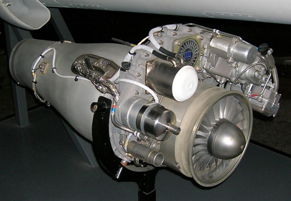 آشنایی با موتور توربوفن