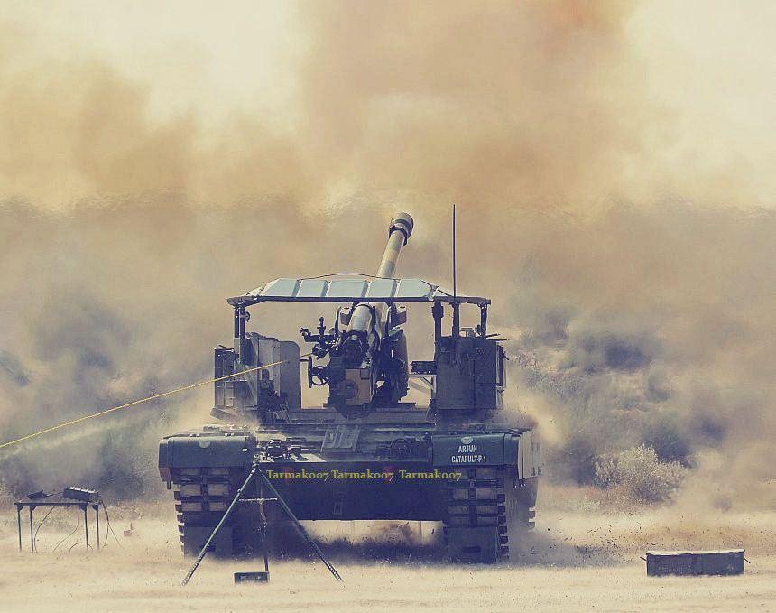 آشنایی با توپ خودکششی Arjun Catapult ارتش هند !