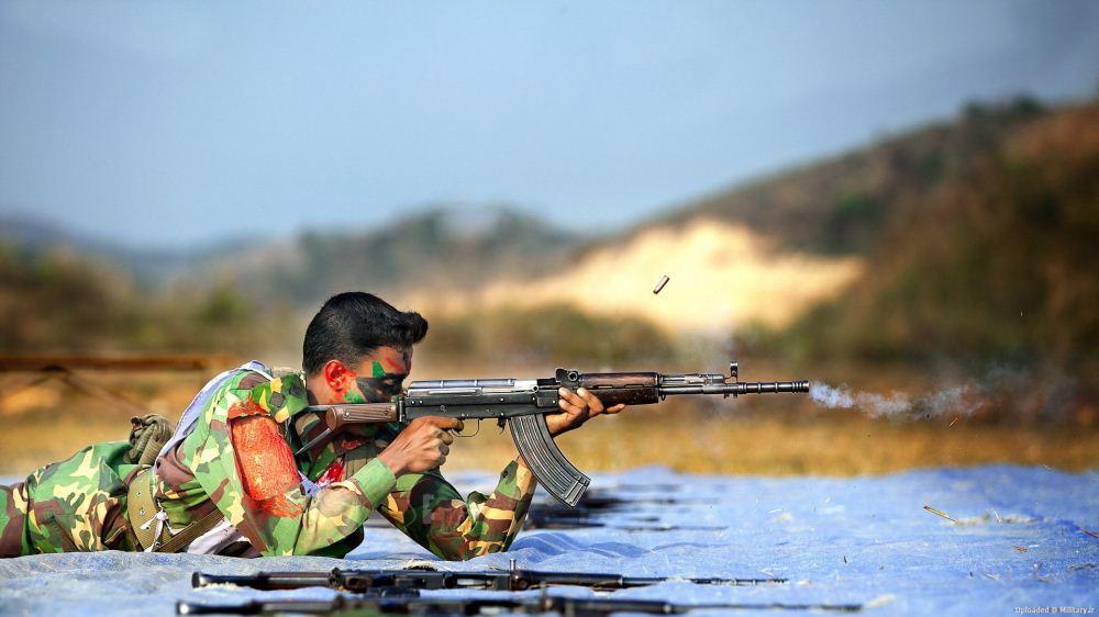 شات فوق العاده از سرباز بنگلادشی