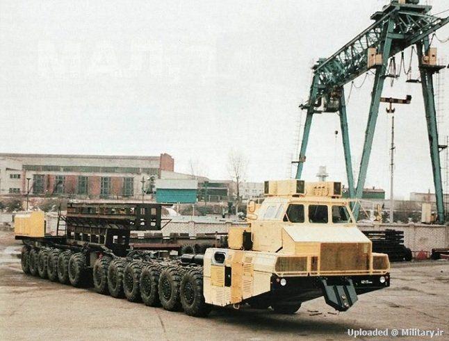 آشنایی با خودروی کشنده ی موشک های ارتش شوروی سابق MAZ-7907 !