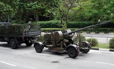 توپخانه ضدهوایی 35 م م اورلیکن !