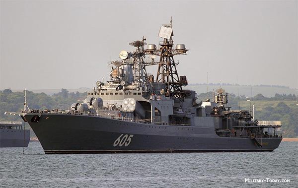 شکارچی زیر دریایی/آشنایی با سری ناوشکنهای کلاس Udaloy روسیه !